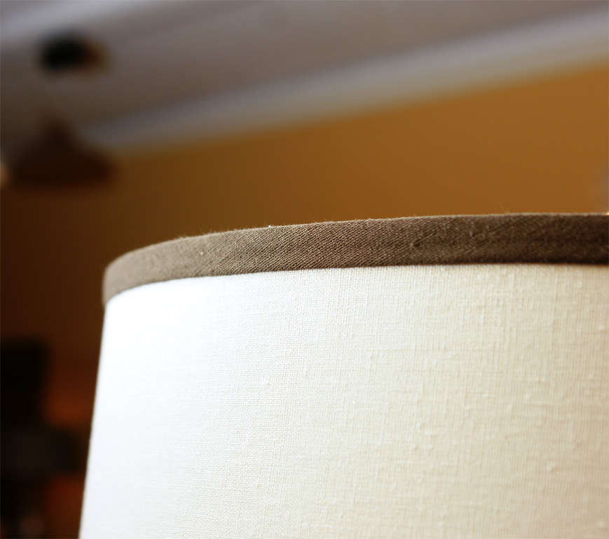 Pair of Mahogany Lamps For Sale 1