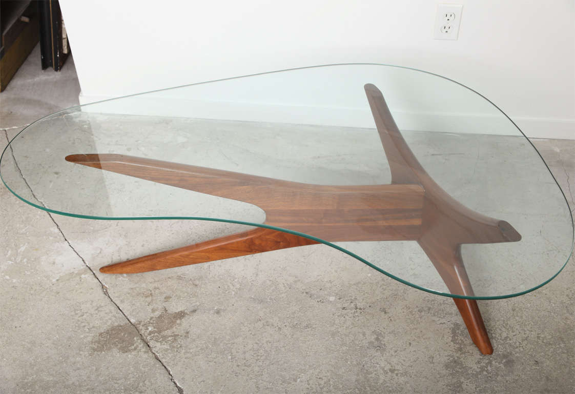 Kidney Shaped Gl Desk Home Design Ideas Bean Coffee Table