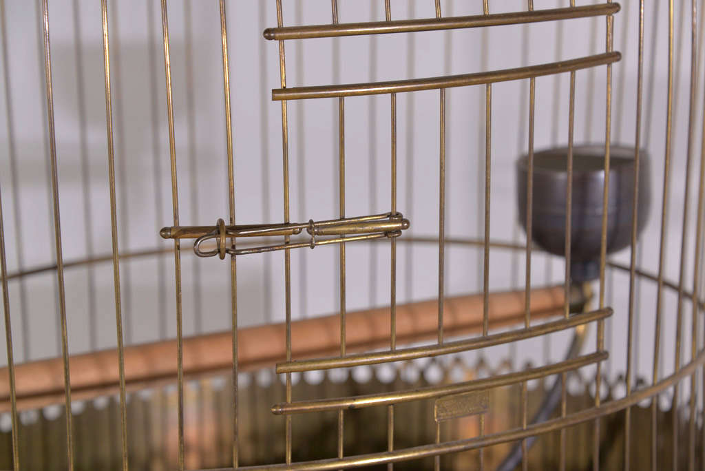 Victorian Brass Bird Cage image 5