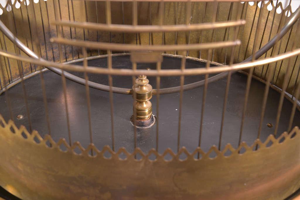 Victorian Brass Bird Cage image 7