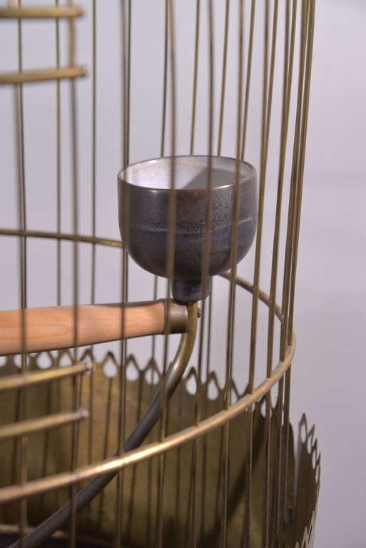 Victorian Brass Bird Cage image 8