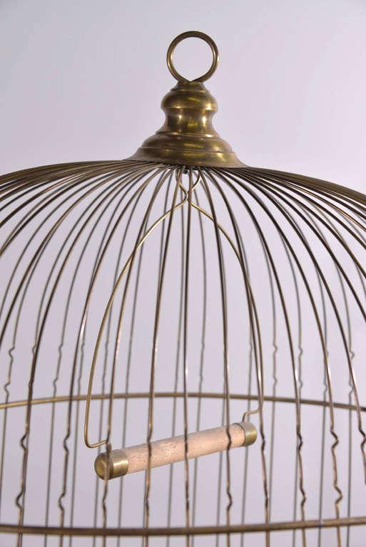 Victorian Brass Bird Cage image 9