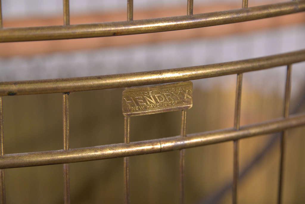 Victorian Brass Bird Cage image 10