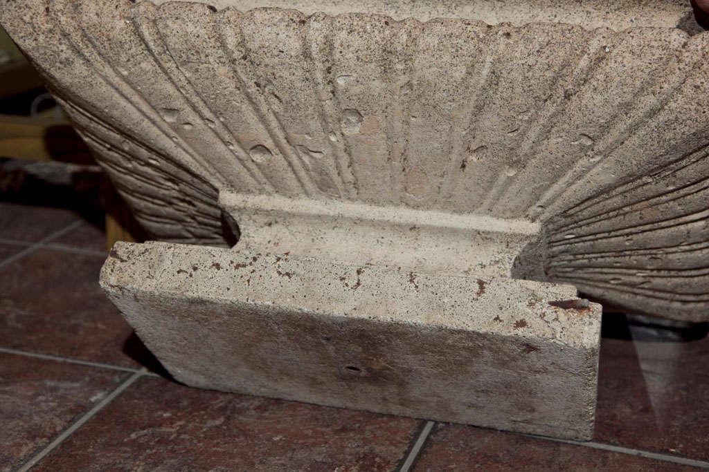 Cast Stone Rectangular Jardiniere For Sale 4
