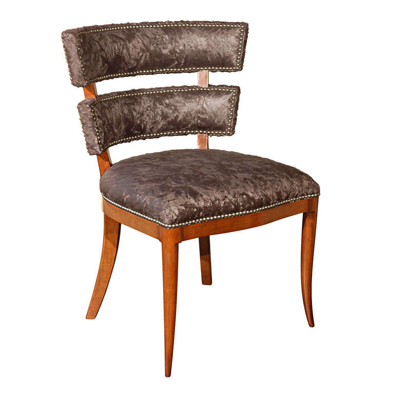 Modern Klismos Chair: Paul Marra Klismos Style Chair For Sale At 1stdibs
