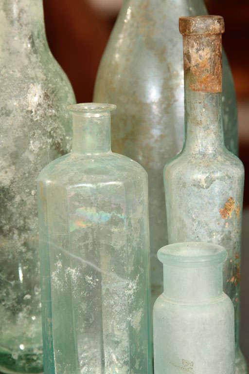 set of 5 aqua bottles image 3