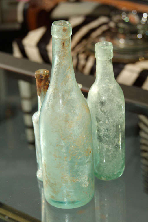 set of 5 aqua bottles image 7