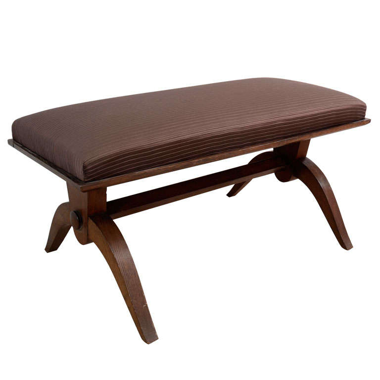Dominique Oak Bench