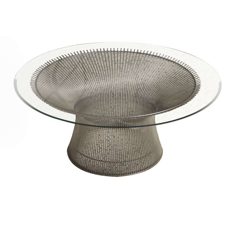 Iconic Warren Platner Coffee Table For Knoll For Sale At 1stdibs