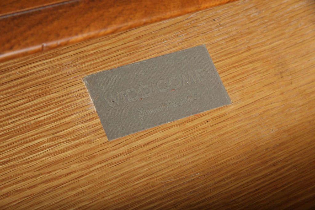 Mid-20th Century Robsjohn-Gibbings Walnut Night Table for Widdicomb For Sale