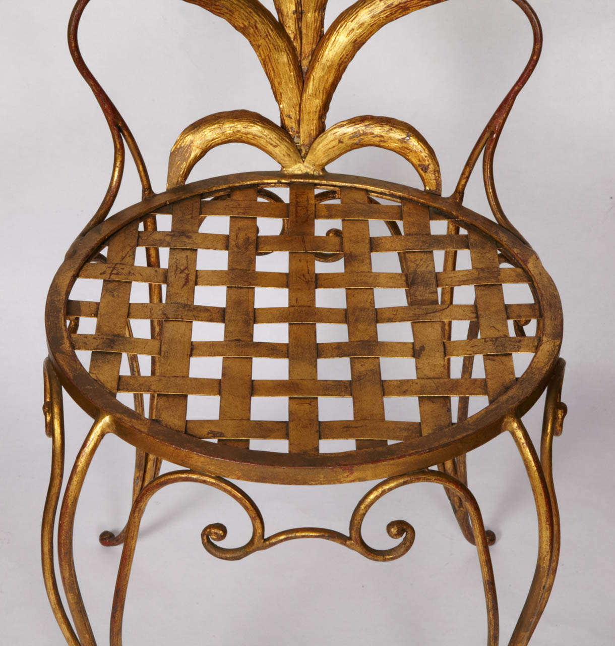 French Pair of Chairs by René Drouet For Sale