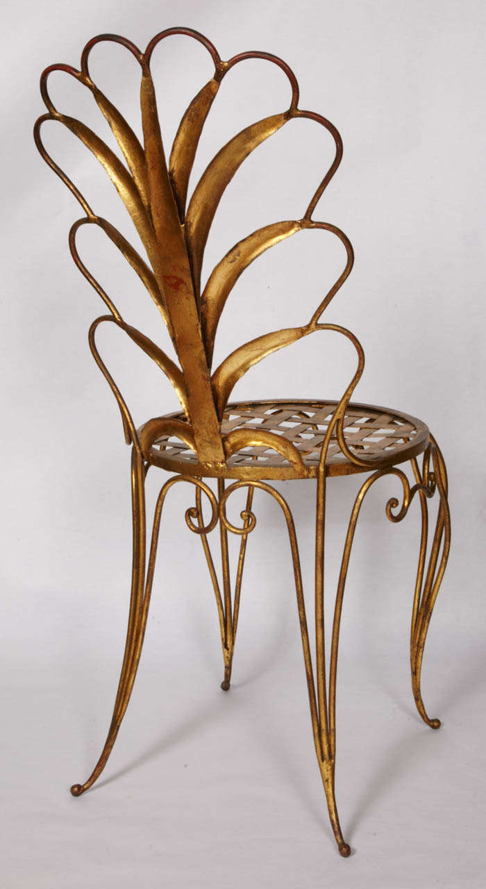 Pair of Chairs by René Drouet For Sale 1