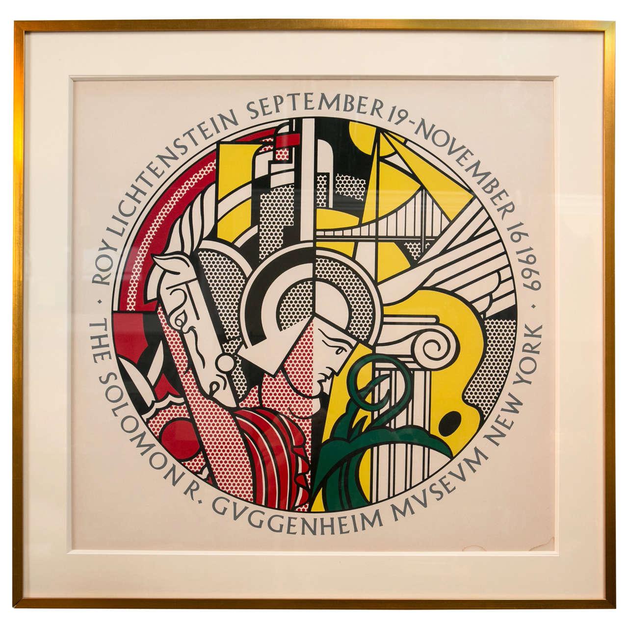 Roy Lichtenstein Metropolitan Museum Of Modern Art Poster At 1stdibs