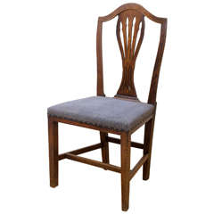 English Mahogany Framed Open Arm Chair Cr 1830 40 For