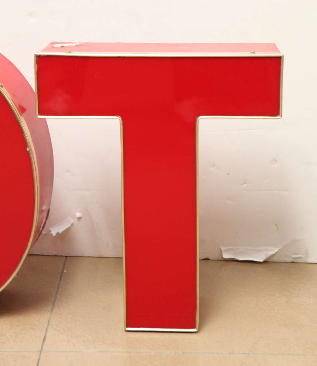 N o t metal letters for sale at 1stdibs for Furniture 5 letters