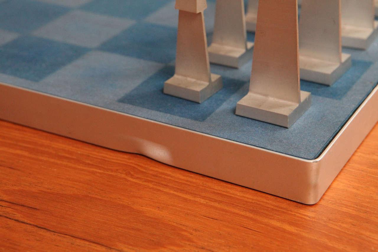 Austin Enterprises Aluminum Chess Set and Board 2