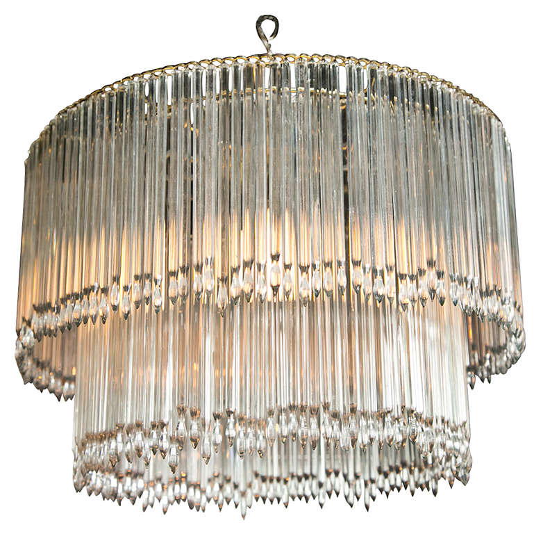 Icicle Crystal Chandelier