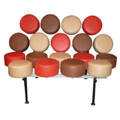 1970s Marshmallow-Shaped Sofa