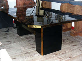 1970s Coffee Table by Jean-Claude Mahey thumbnail 3