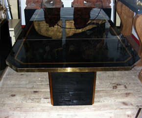 1970s Coffee Table by Jean-Claude Mahey thumbnail 4