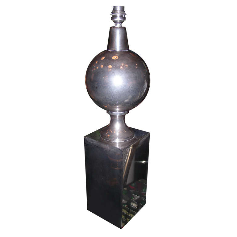 1970s Lamp by Maison Barbier For Sale