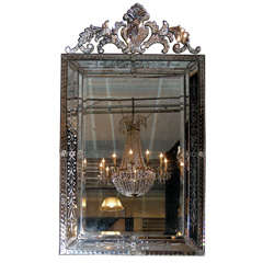 Large 19th Century Venetian Mirror
