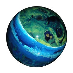 1970s Resin Ball by Pierre Giraudon
