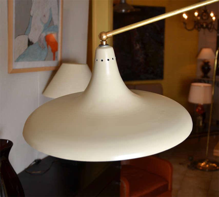 """1954 Italian """"Flower"""" Floor Lamp Edited by Stilnovo 4"""