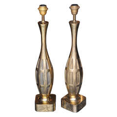 Two 1970s Lamps