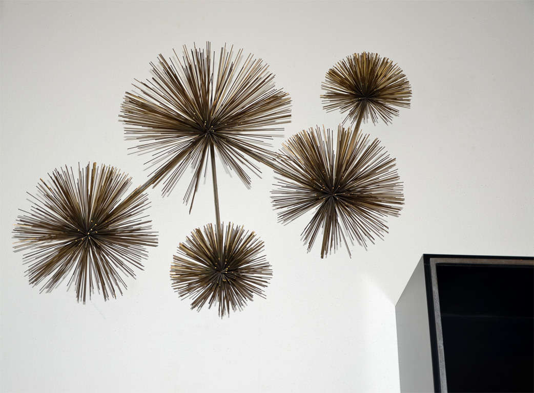 Wall Sculpture Called Pom Pom by Curtis Jere 2