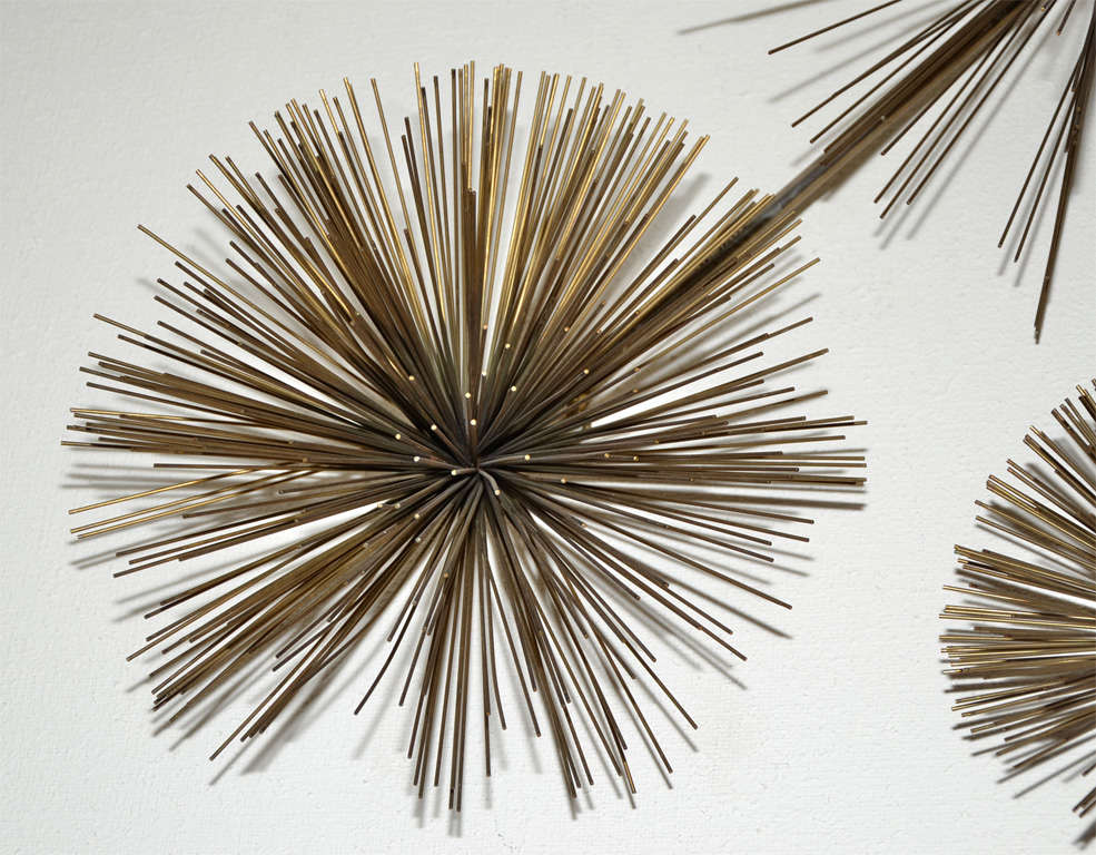 Wall Sculpture Called Pom Pom by Curtis Jere 4