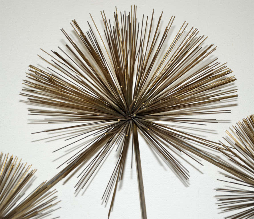Wall Sculpture Called Pom Pom by Curtis Jere 6