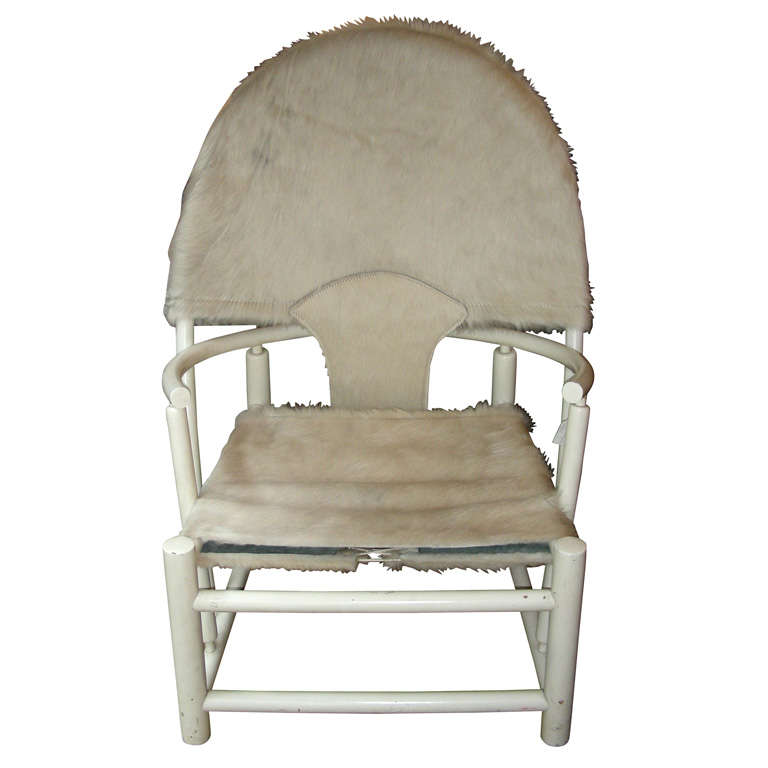 """Werther Toffolini and Piero Palange, """"Hoop"""" Armchair"""