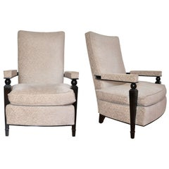 Pair of Armchairs by Maison Dominique, 1947.