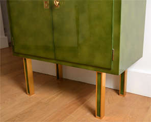 Lacquered Secretaire By Jules Leleu image 10