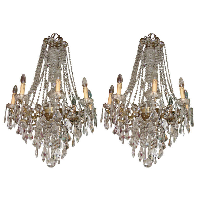Two 1920s Chandeliers At 1stdibs