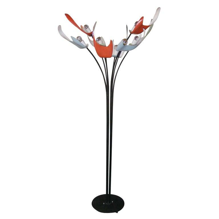 1950's Italian Floor Lamp
