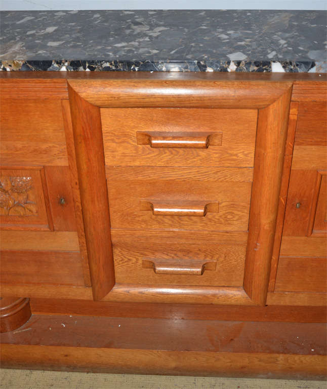1940's oak sideboard For Sale 2