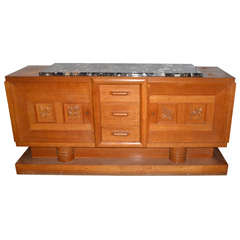 1940's oak sideboard