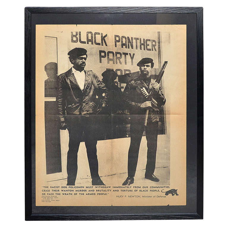 "Circa 1971 Original ""Black Panther Party"" Poster at 1stdibs"