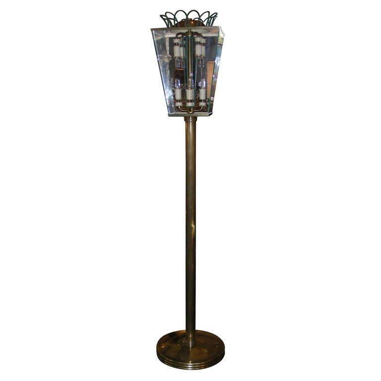 Italian 1940s Floor Lamp For Sale