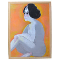 1962-1970s Painting by Anna Silverberg