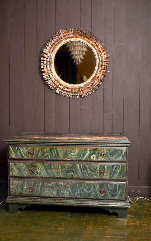 Eye Lash Mirror In Copper&brass By Curtis Jere 2