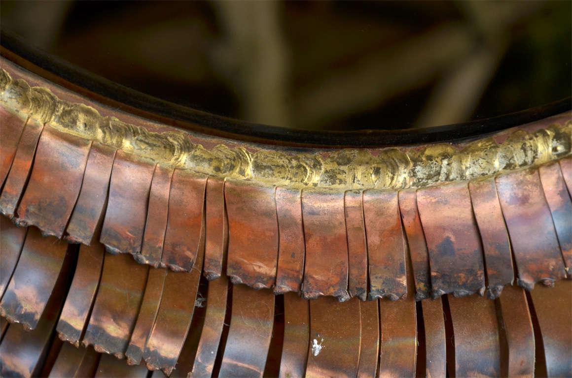 Eye Lash Mirror In Copper&brass By Curtis Jere 10