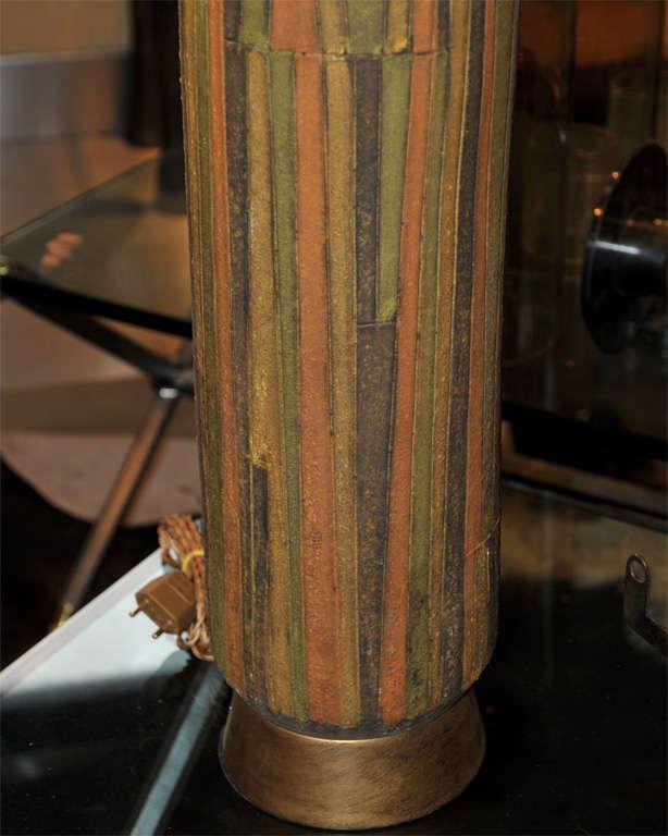 1950-1960 Vallauris Ceramic Lamp For Sale 3