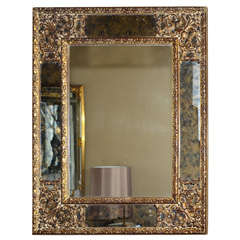 1970s Louis XIV Style Mirror