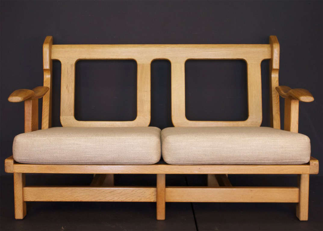 1950s living room suite by guillerme et chambron at 1stdibs for Living room suites for sale