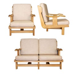 1950s Living-Room Suite by Guillerme et Chambron