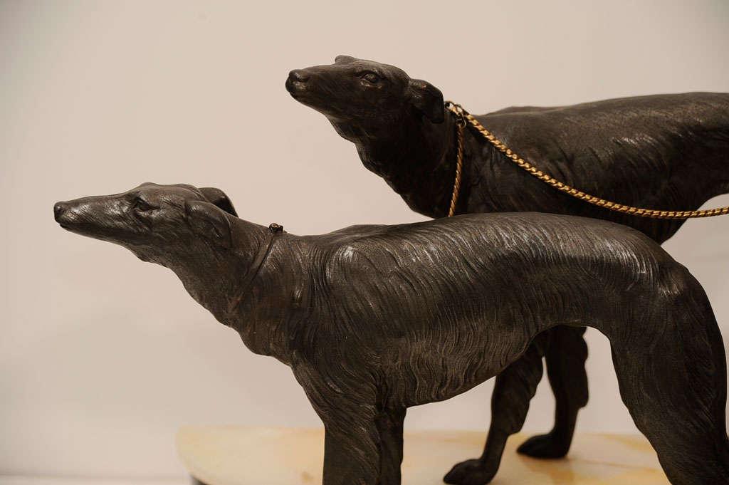 Art Deco Bronze Sculpture by Georges Gori 3