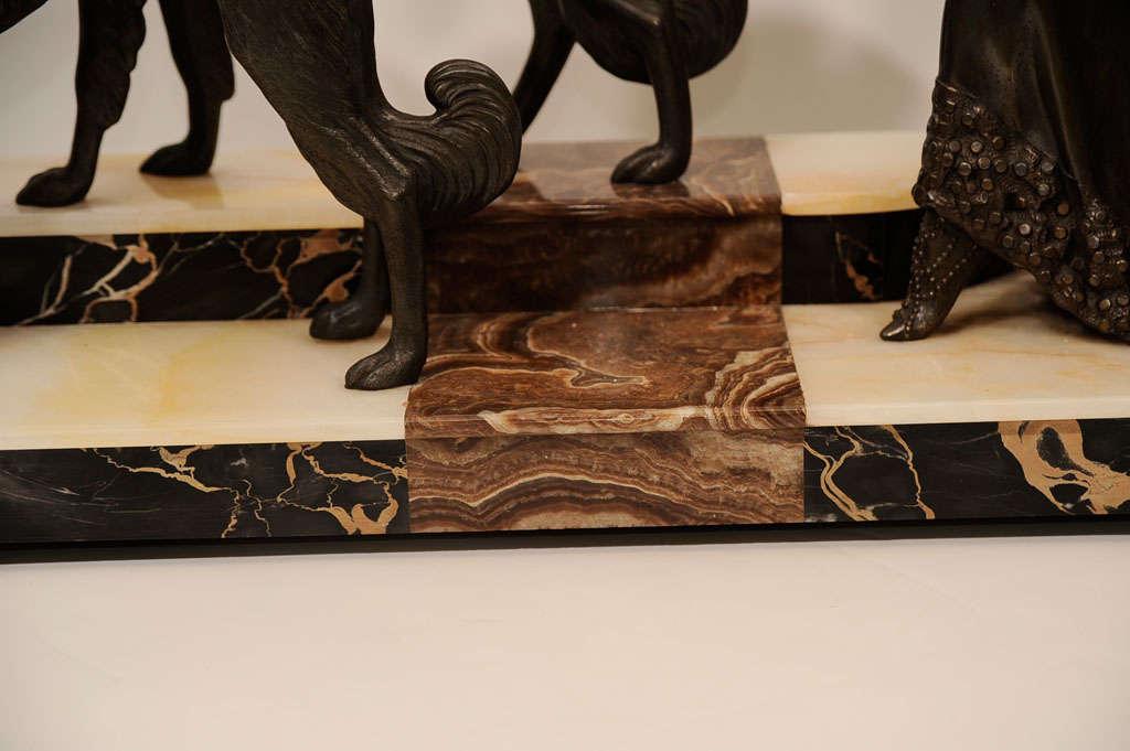 Art Deco Bronze Sculpture by Georges Gori 4